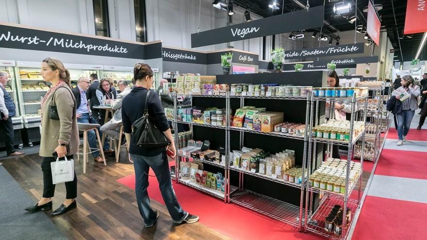 Meat-free products at Anuga Organic