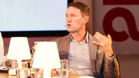 Chris Sanderson hält eine Keynote auf der Anuga 2019