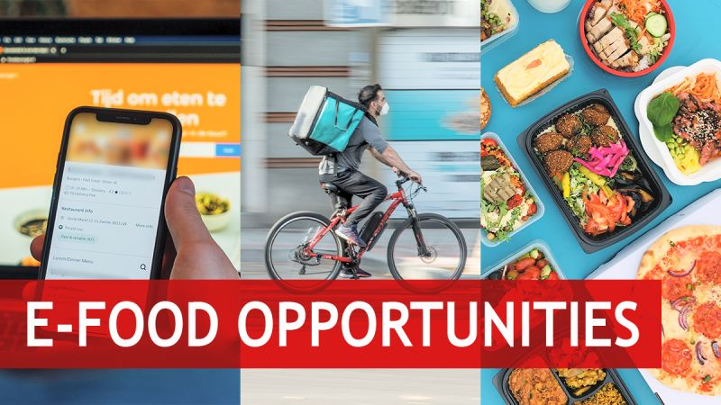 Opportunities in the e-food business