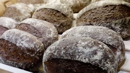 Organic bread and other organic products are indications of a more conscious diet