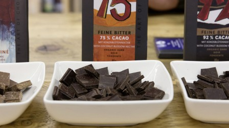 Around 1/3 of the approx. 7,500 Anuga exhibitors will be presenting organic products such as chocolate