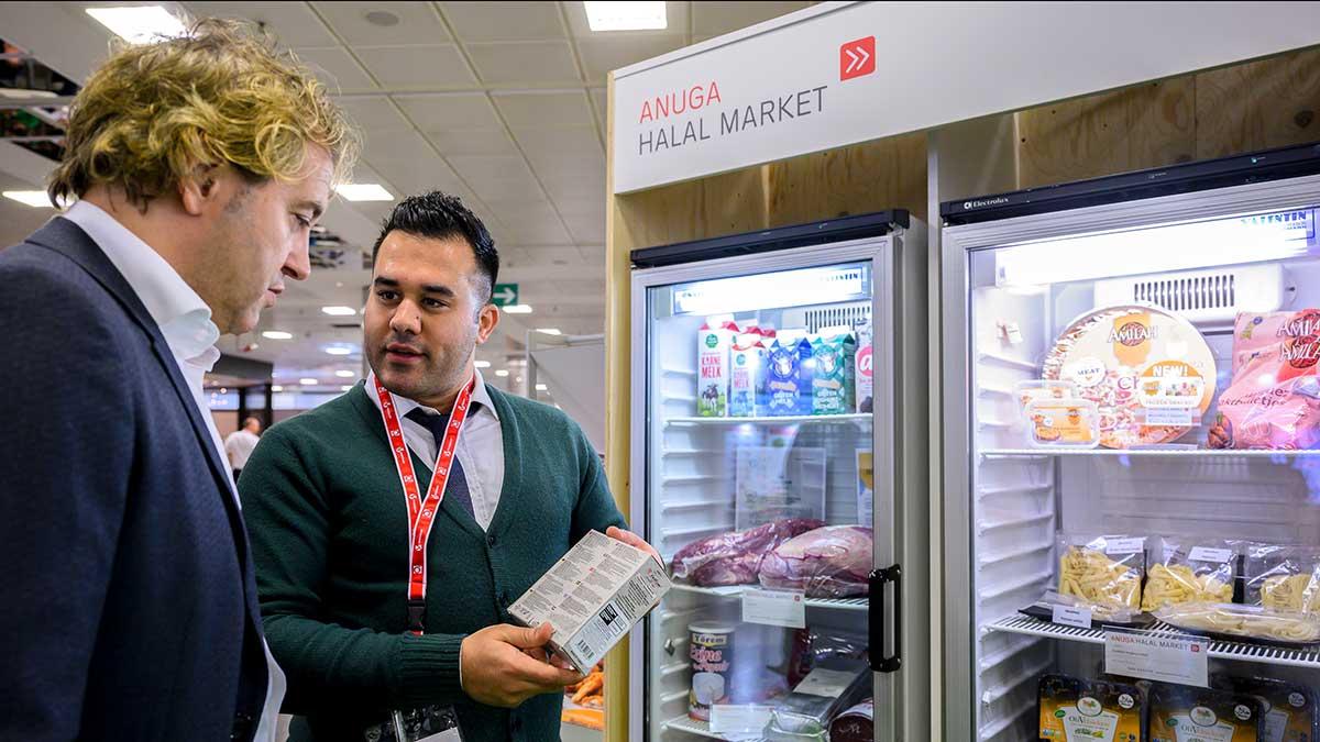 Impressionen 2019 Halal Market Anuga