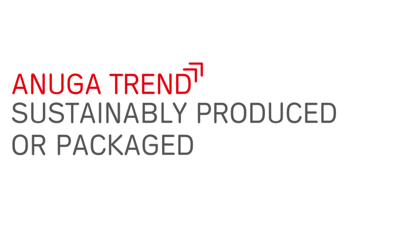 """Anuga food trend """"Sustainably produced or packaged"""""""