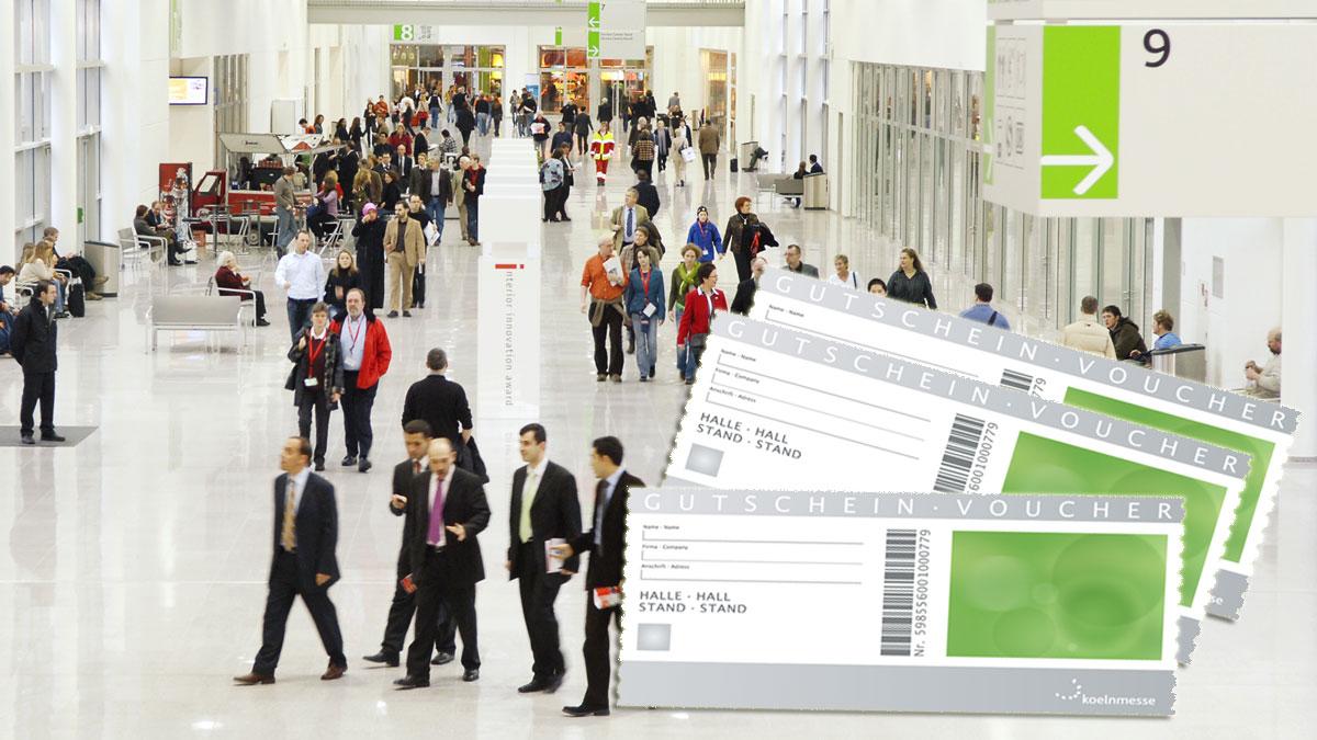 Admission ticket voucher codes