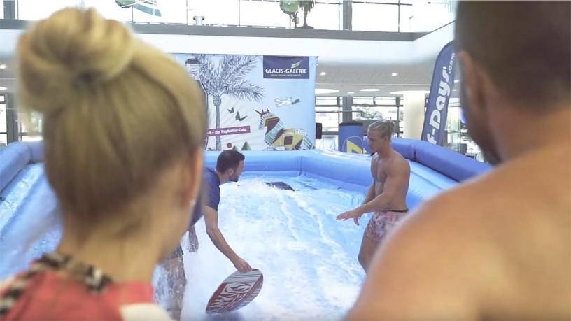 The aquanale indoor surf wave