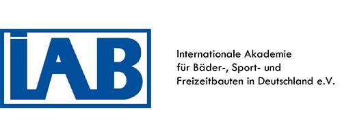 Logo IAB - Internationale Akademie für Bäder-, Sport- und Freizeitbauten in Deutschland e.V.