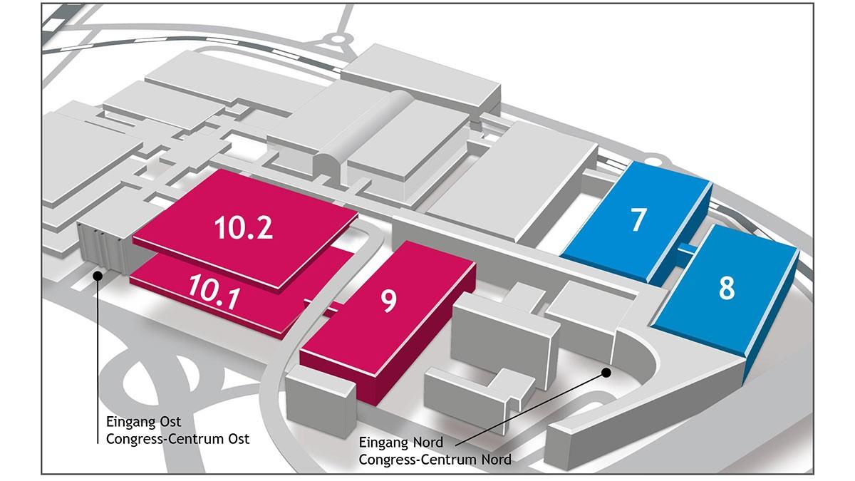Grafik des Hallenplans zur aquanale