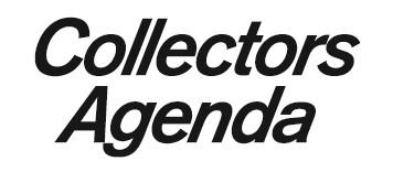 Collectors Agenda