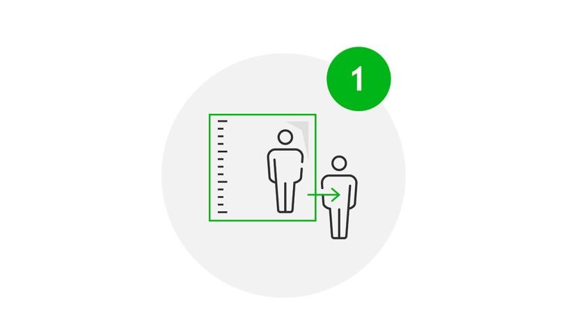 Visit Safe Icon Bauliche Gestaltung