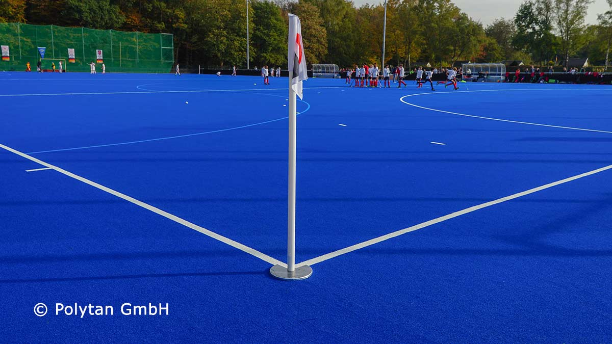 Polytan artificial turf from renewable raw material
