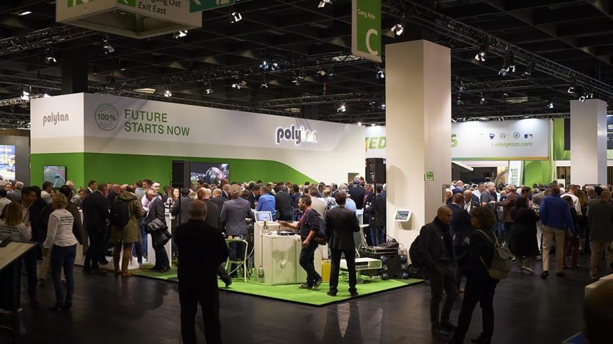 Trotz Corona präsentiert sich Deutschlands Marktführer Polytan auch 2021 wieder auf der weltweit größten Fachmesse für Freiraum, Sport- und Bewegungseinrichtungen FSB vom 26. bis 29. Oktober in Köln.