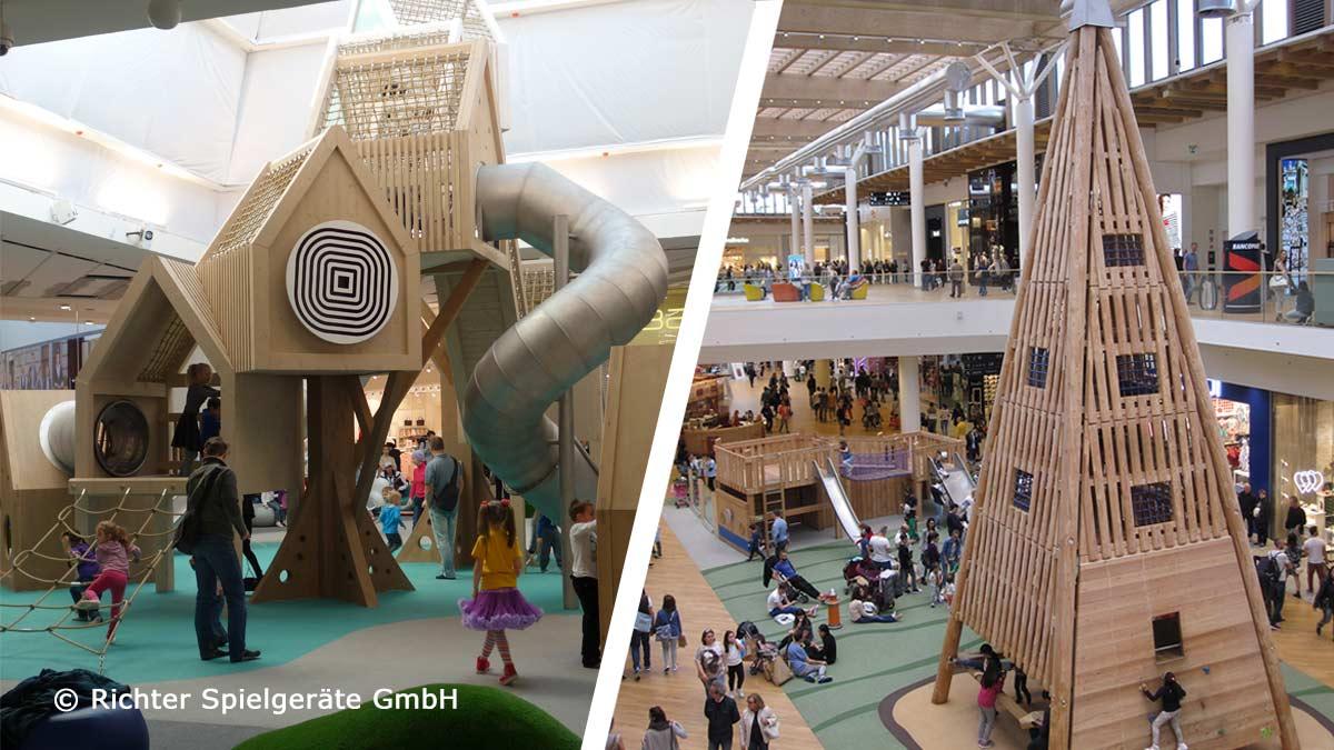 Richter Spielgeräte GmbH - playing in shopping centres worldwide