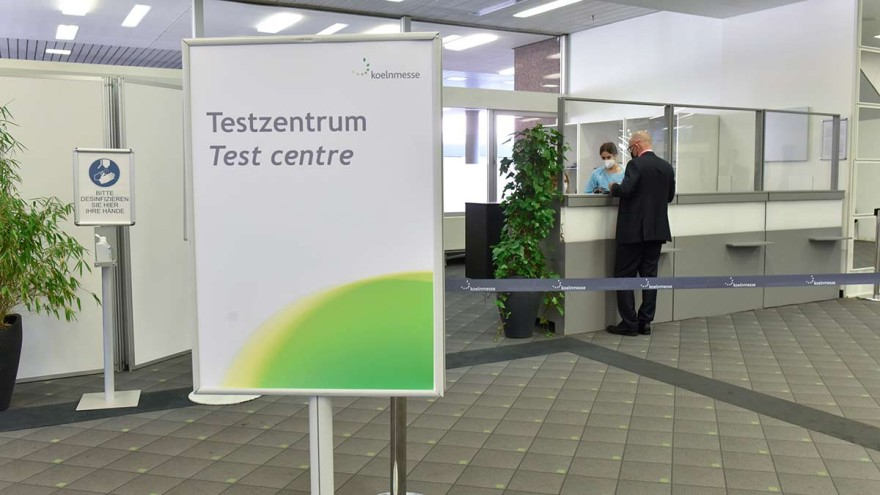 Test centres for corona tests for FSB