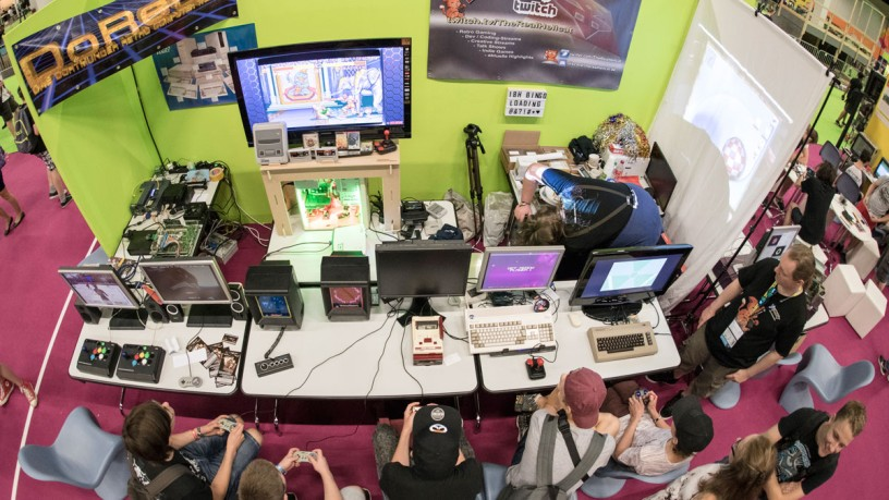 Top view of the retro area in the family&freinds area