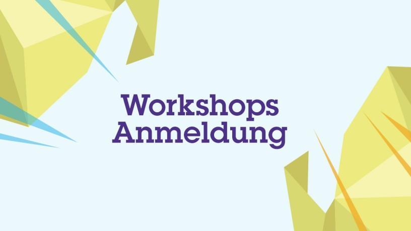 Workshops registration