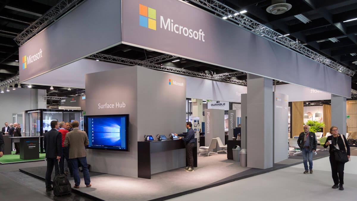 Microsoft at Orgatec
