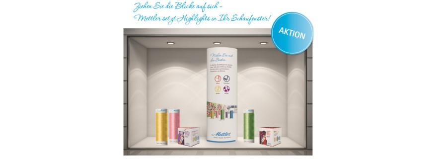 Mettler Werbeaktion-Aufsteller