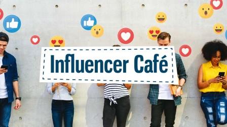 Influencer Café h+h cologne @home
