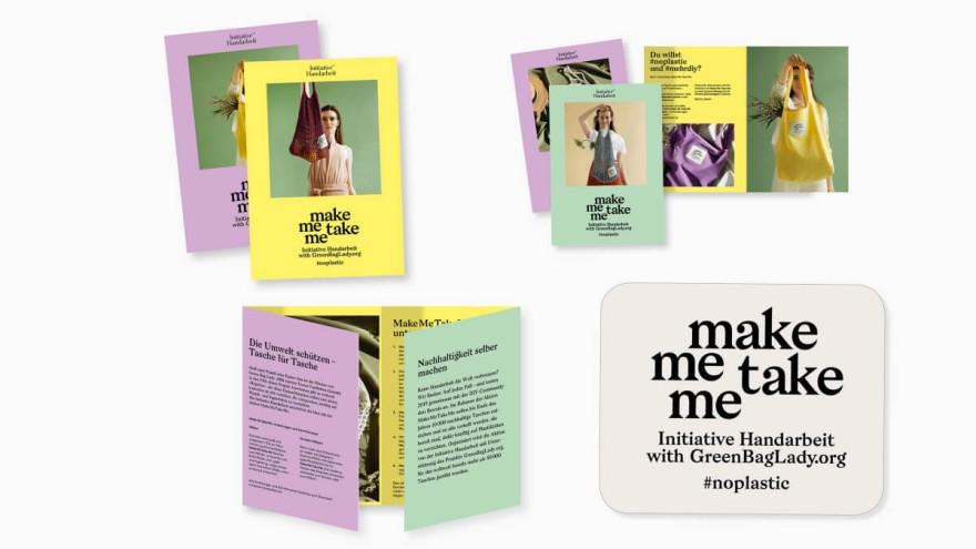 make me take me #noplastic © Initiative Handarbeit