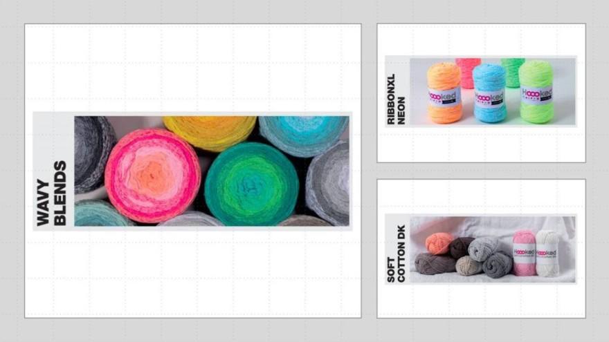Hooked - recyceltes und farbenfrohes Strickgarn
