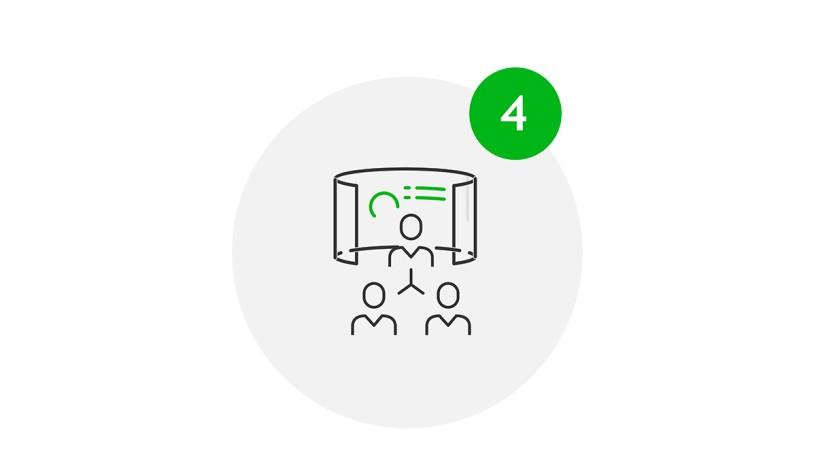 Meet Safe Icon Maßnahmen bei Konferenzen