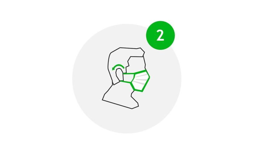 Visit Safe Icon Pflicht zu Mund-Nasen-Schutz