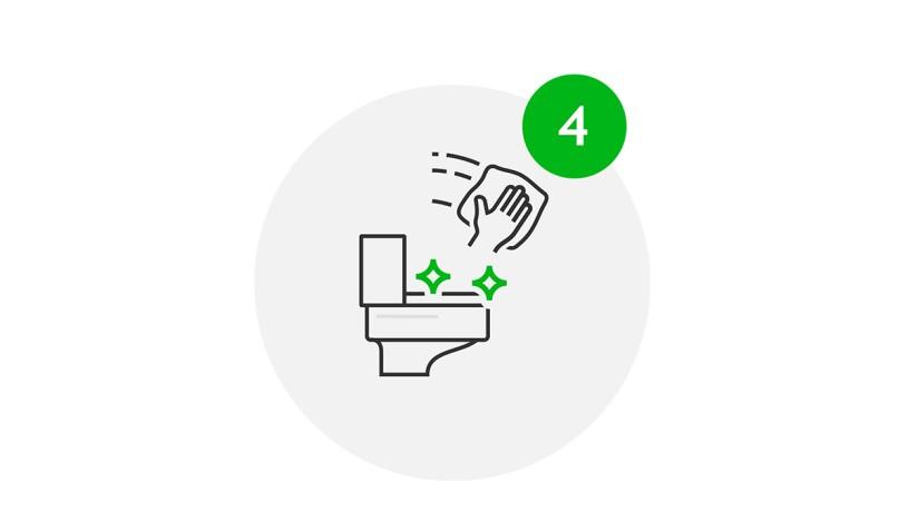 Visit Safe Icon Hygiene in Sanitäranlagen