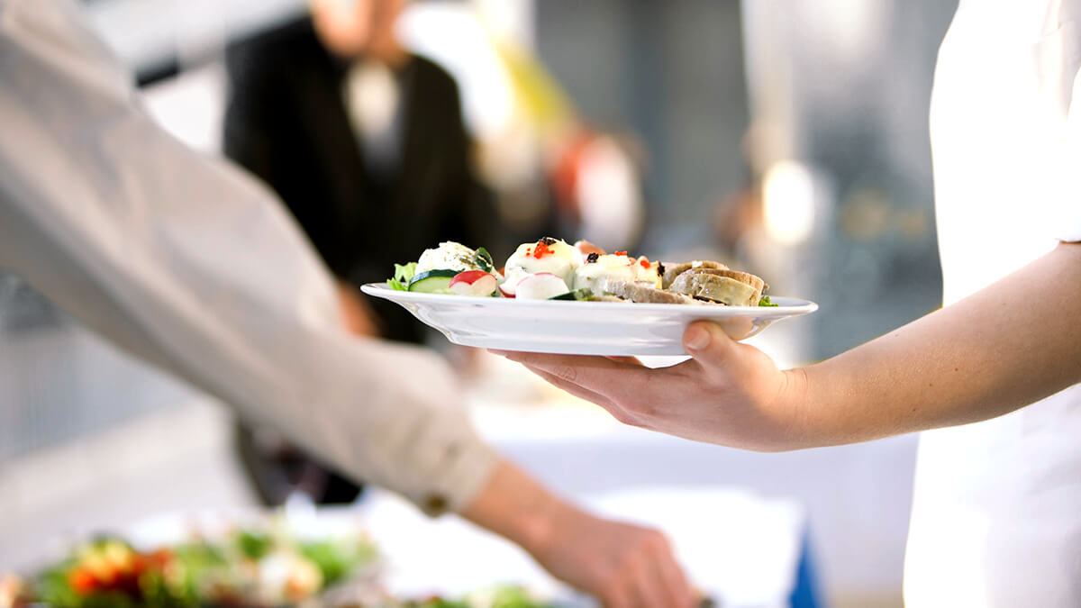 Gastronomie und Events zur IDS
