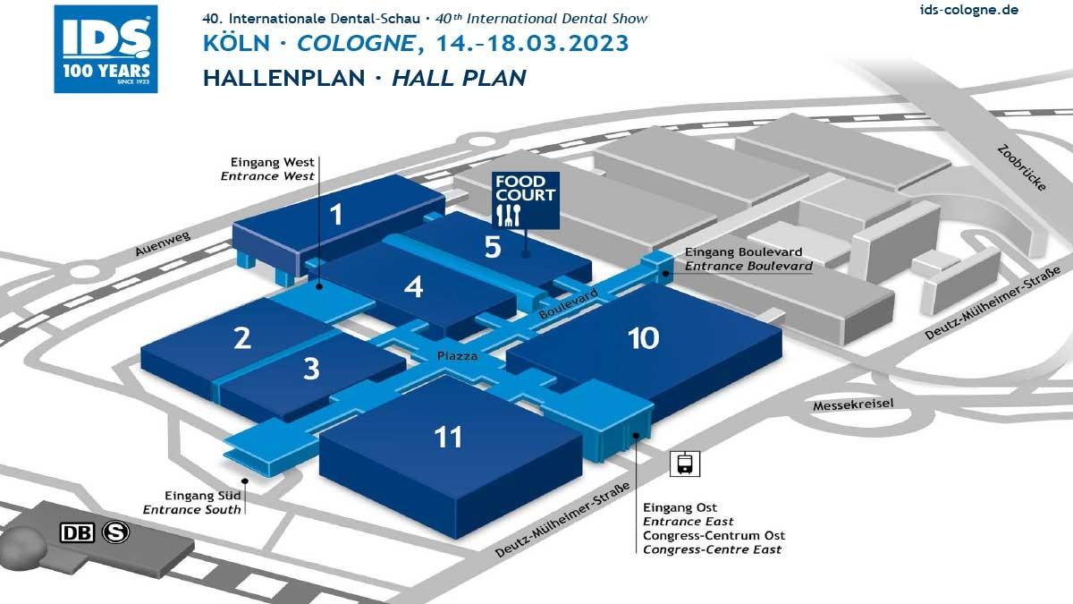 Site plan IDS 2021
