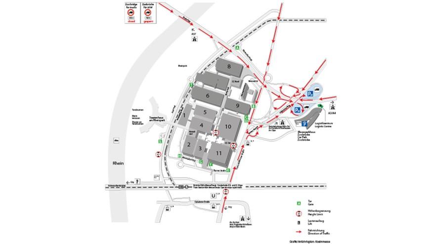 traffic routeing plan