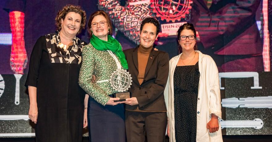 Gewinner CSR-Award Internationale Eisenwarenmesse