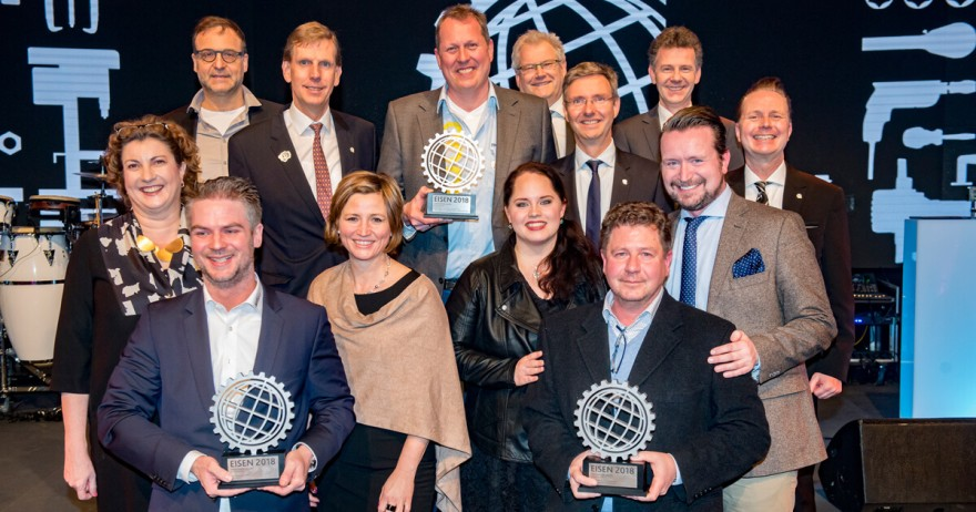 Gewinner Innovation-Award Internationale Eisenwarenmesse