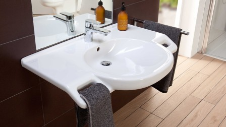Ceramic washbasin from Villeroy & Boch