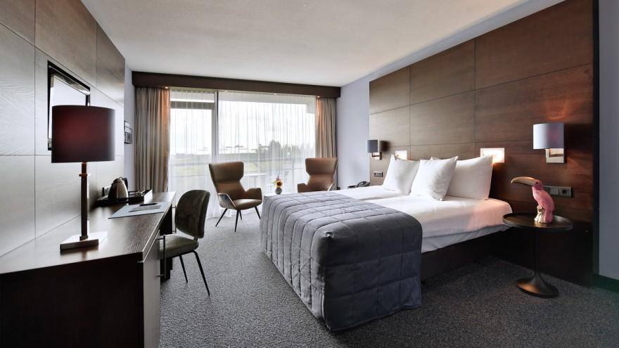 Das Komfort-Hotelzimmer des Van der Valk Hotels Sassenheim