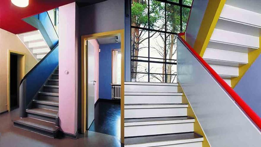 Meisterhaus Paul Klee / Wassily Kandinsky in Dessau.