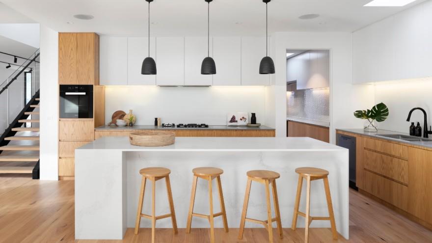 Kitchen lighting in modern kitchen
