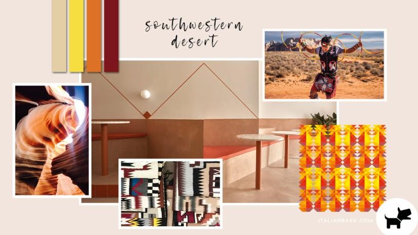 Moodboard #4 / Farbtrend für 2022: Southwestern Desert