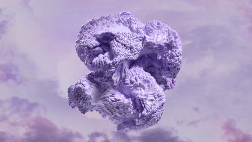 Digital Lavender von Coloro