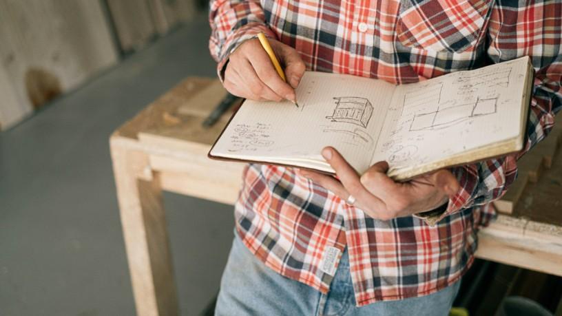 DIY furniture outline Ivan Samkov