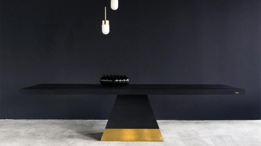 ALKAR dining table from Materia Studios