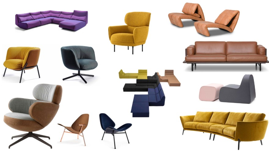 """Best of imm cologne 2020: Polstermöbel bei """"New Moments"""""""