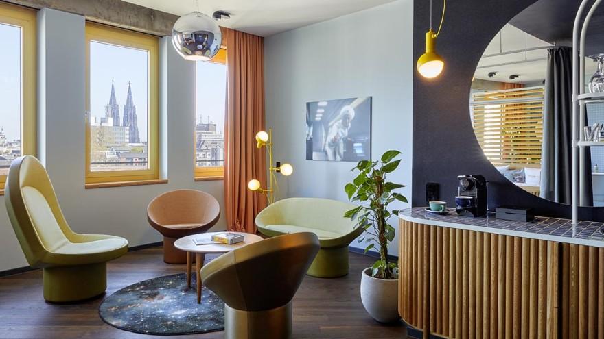Inner-Circle-Räume im futuristischen Ambiente