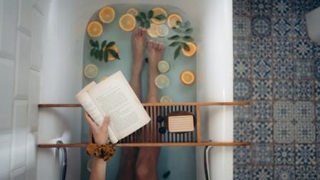 Badezimmer zum Entspannen