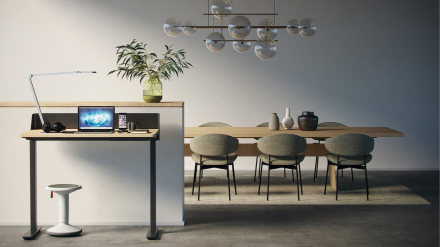 The JobTisch from Häfele is one of the winners at this year's interzum awards.