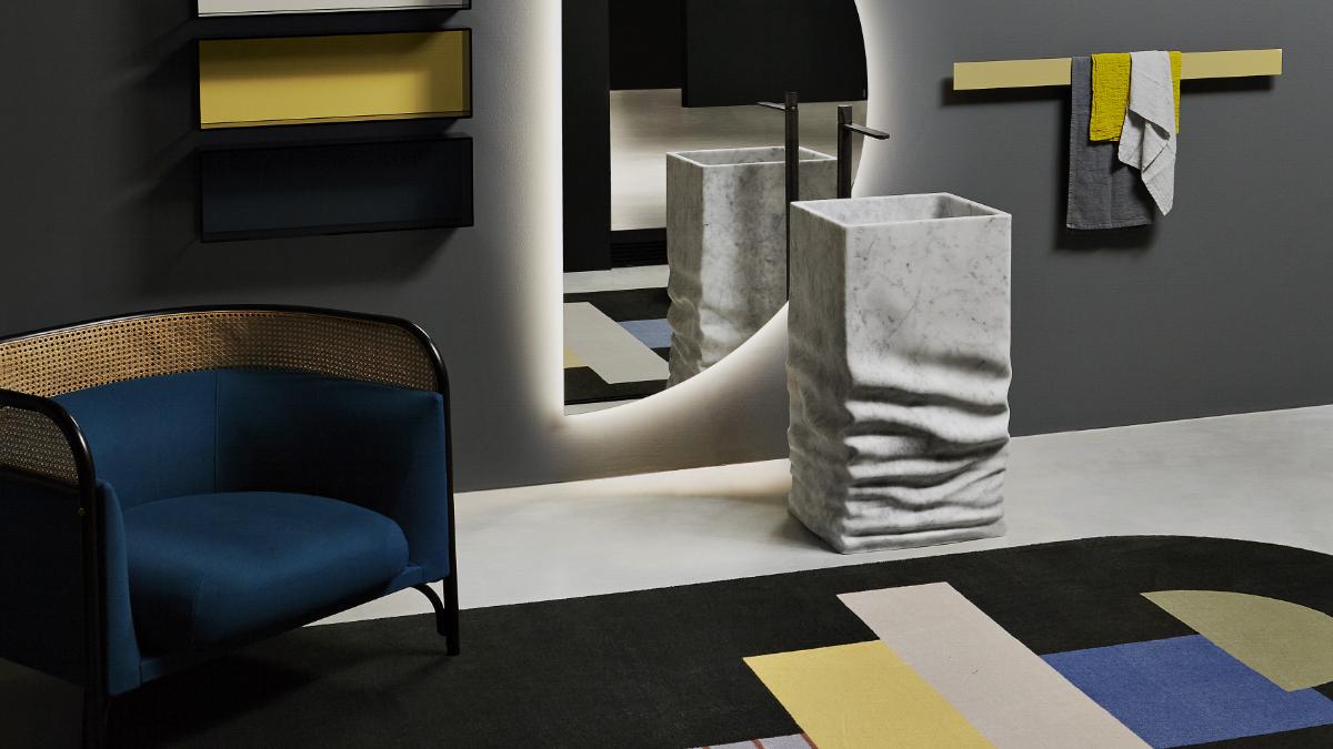 """Unusual bathroom furniture """"Ossimoro"""" by Antonio Lupi Design S.p.A"""