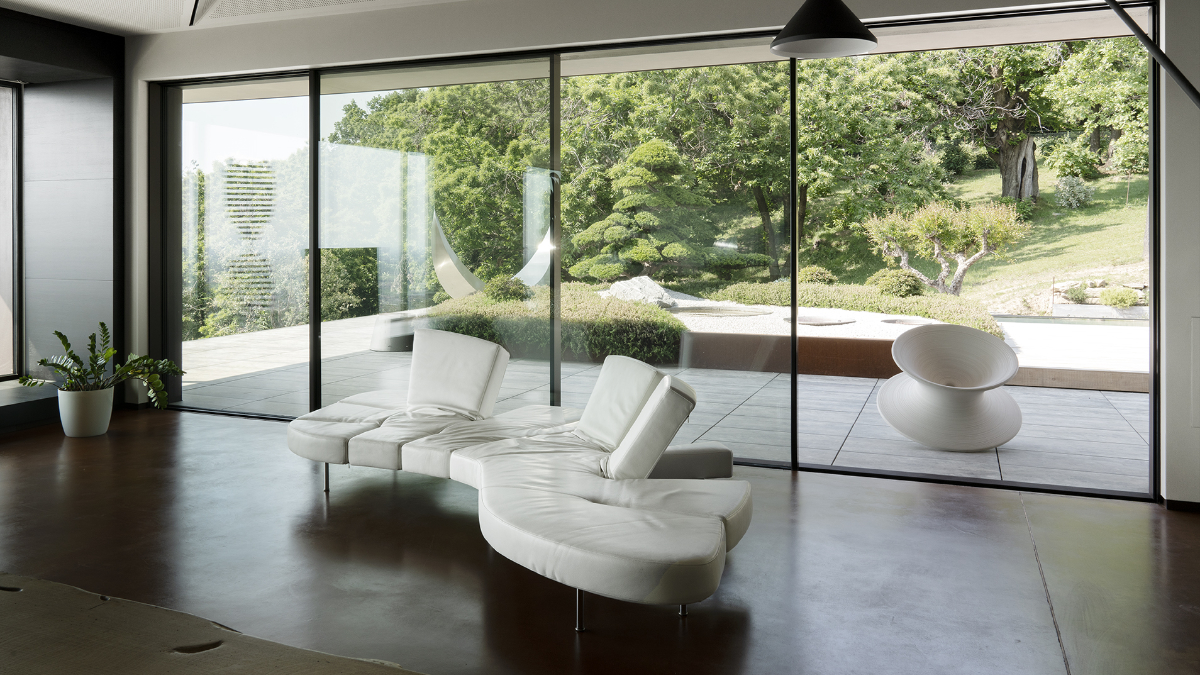 "Italian designer sofa ""Flap"" from Edra"
