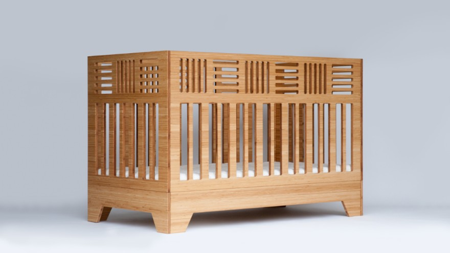 Baby Cot IO Crib from Kalon Studios
