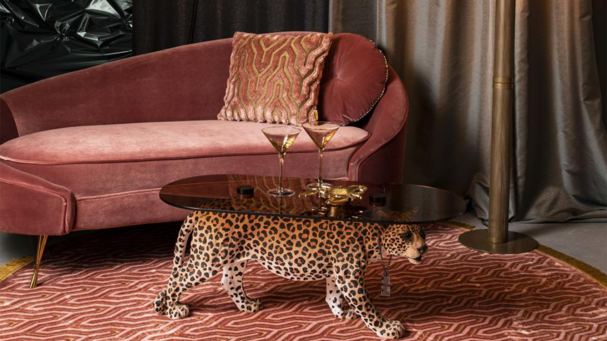 The I am not a Croissant sofa from Bold Monkey