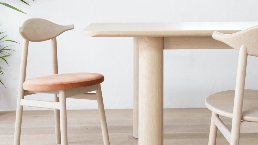 Chinese design chairs and table from Sun at Six