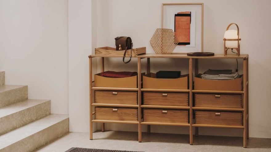 Sideboard from the Mya capsule collection by burgbad